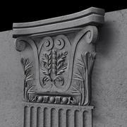 Roman Pilaster 3d model