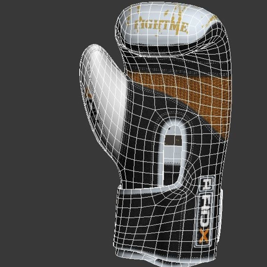 Boxing Gloves royalty-free 3d model - Preview no. 8