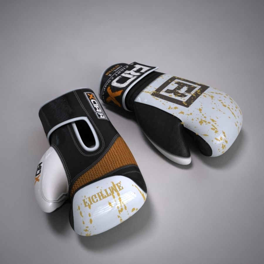 Boxing Gloves royalty-free 3d model - Preview no. 1
