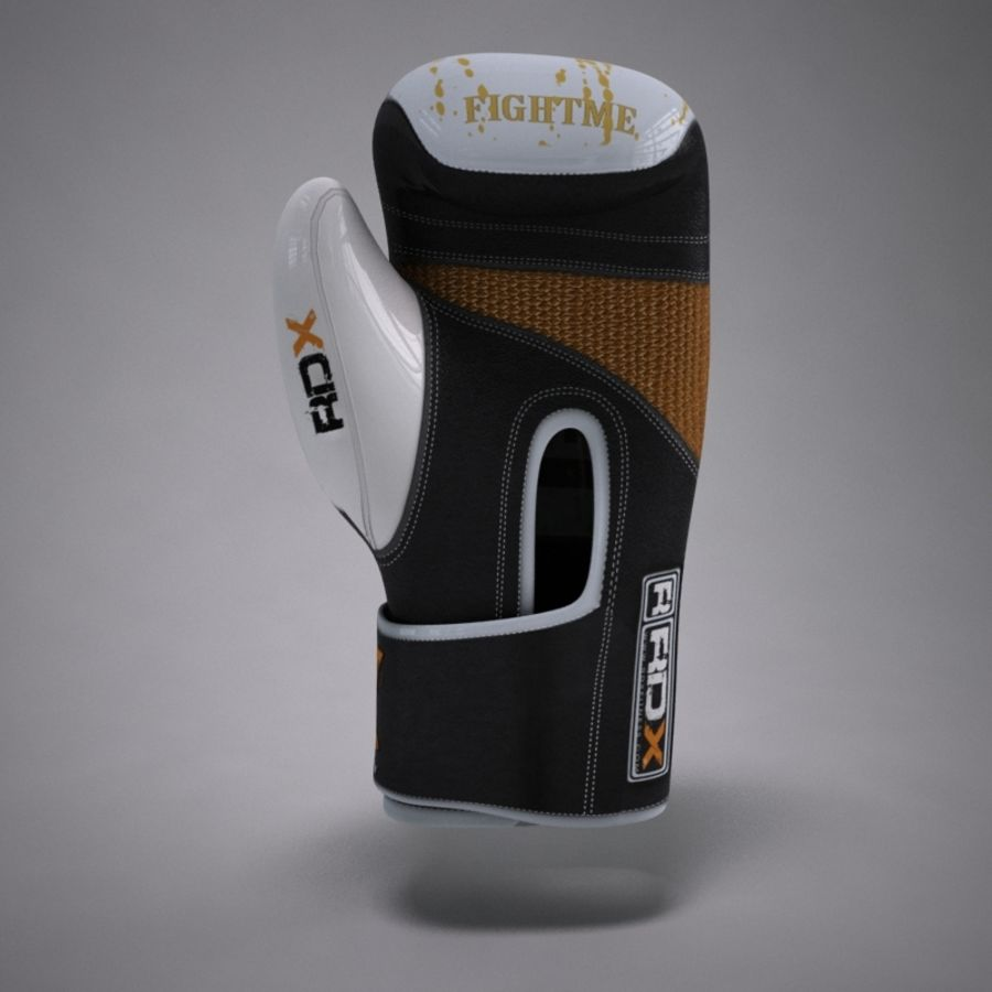Boxing Gloves royalty-free 3d model - Preview no. 6