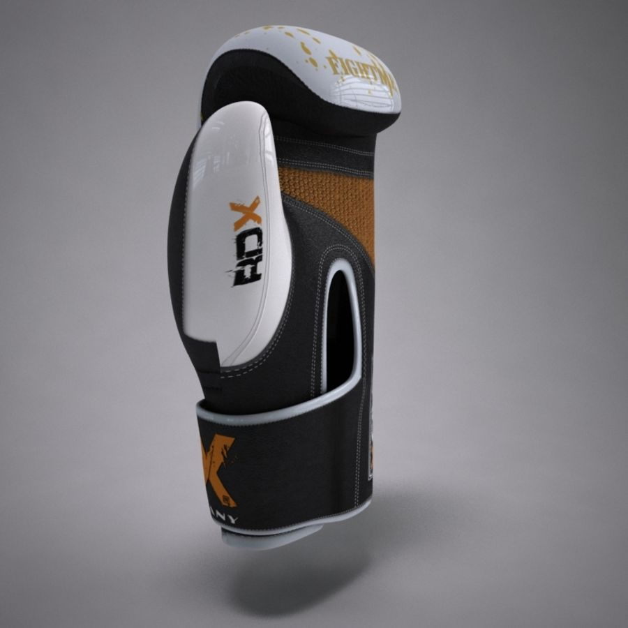 Boxing Gloves royalty-free 3d model - Preview no. 5