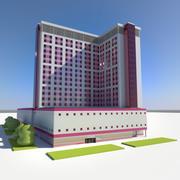 Hôtel Ramada 07 3d model
