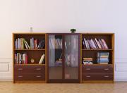 Bookcase 15 3d model