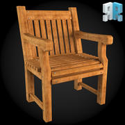 Garden Furniture 002 3d model