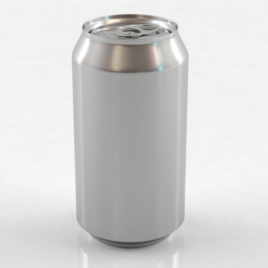 Can soda drink 004(1) royalty-free 3d model - Preview no. 3