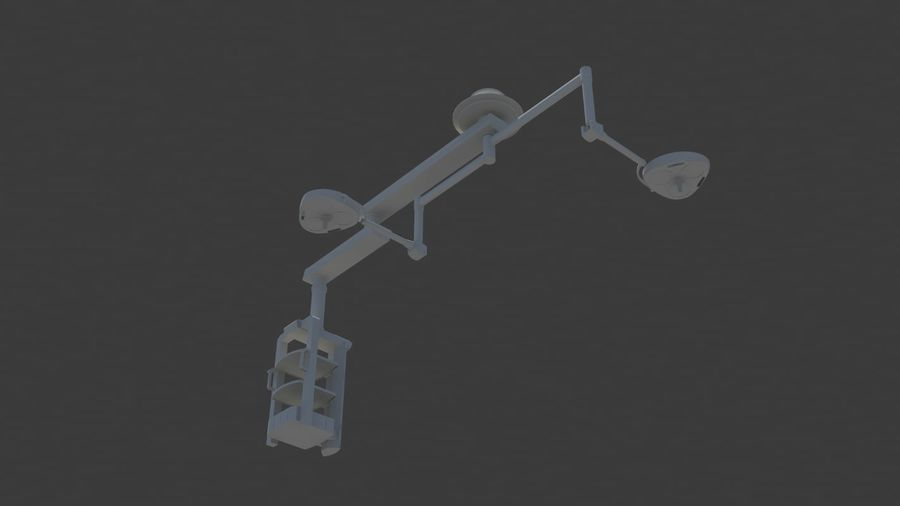 ER Boom Arms royalty-free 3d model - Preview no. 4