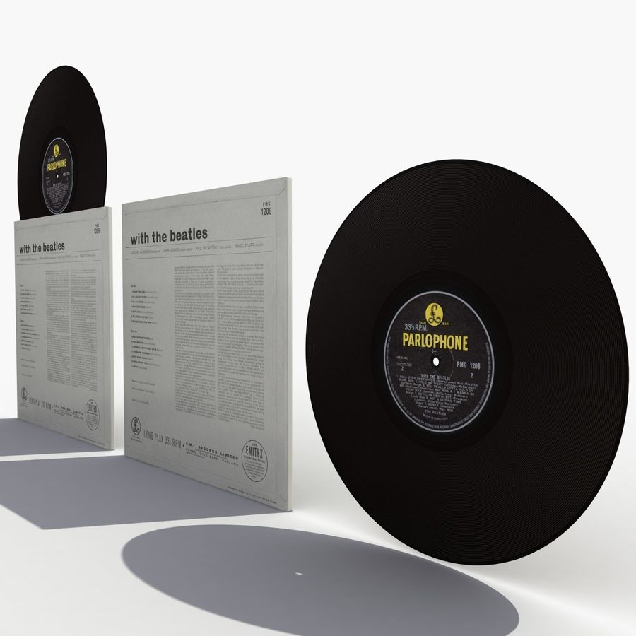 Vinyl 2 royalty-free 3d model - Preview no. 4