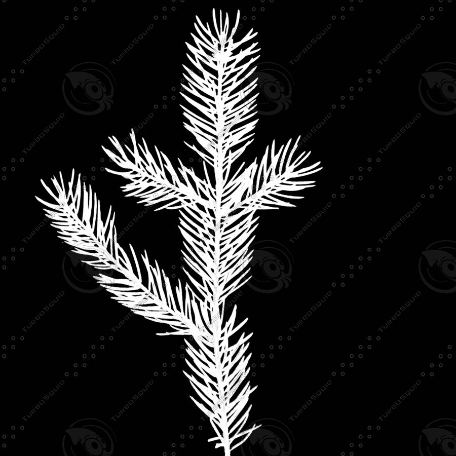 Christmas Tree M-01 royalty-free 3d model - Preview no. 13
