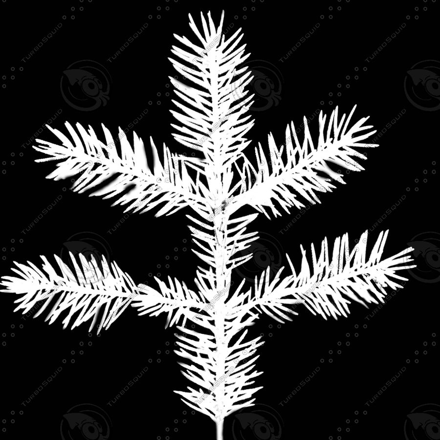 Christmas Tree M-01 royalty-free 3d model - Preview no. 9