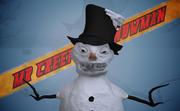 Snowman Creepy 3d model