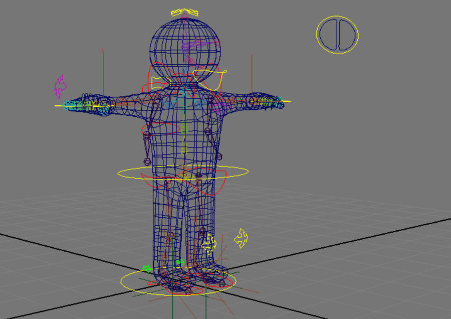 Corporate Character Dummy royalty-free 3d model - Preview no. 2