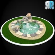 喷泉054 3d model
