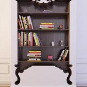 Bookcase 10 3d model