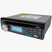 Car Player Boss Audio 637UA 3d model