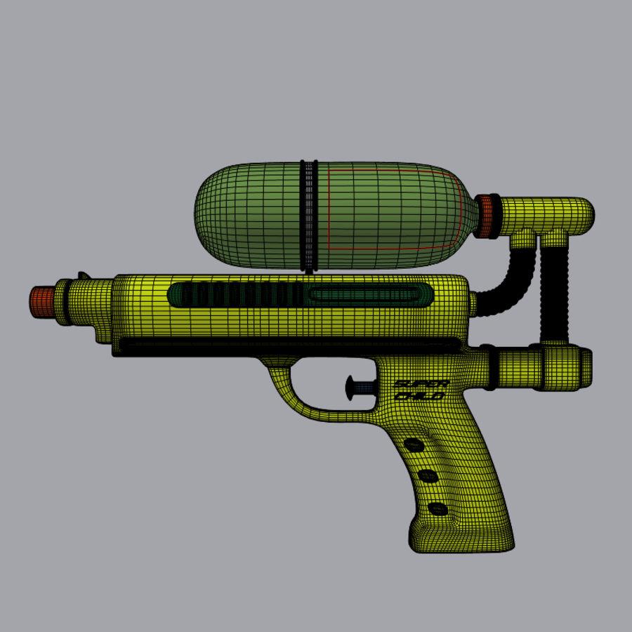 水枪 royalty-free 3d model - Preview no. 3