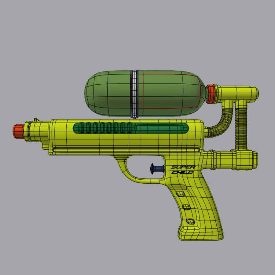 水枪 royalty-free 3d model - Preview no. 2