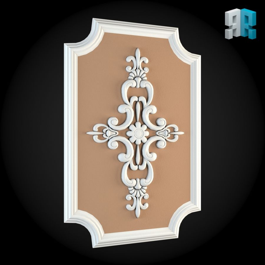 Wall 009 royalty-free 3d model - Preview no. 5