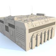 Sci fi Building E 3d model