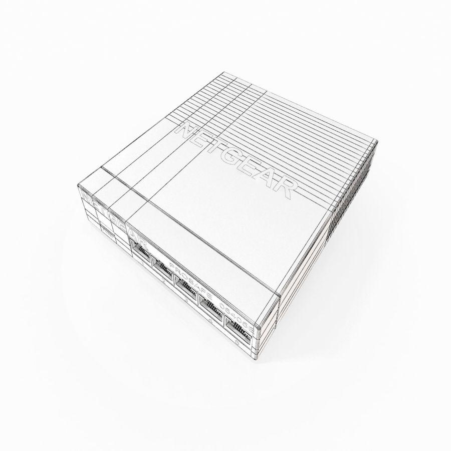 Elektronischer Umschalter royalty-free 3d model - Preview no. 10