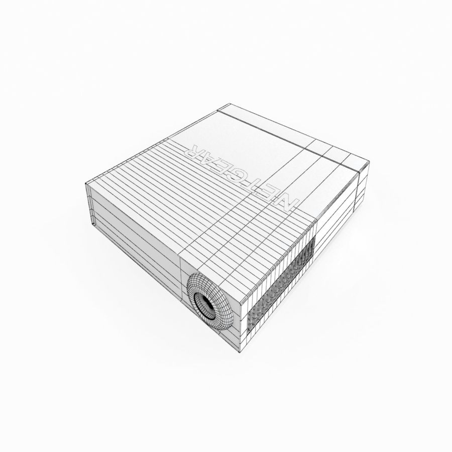 Electronic Switcher royalty-free 3d model - Preview no. 11