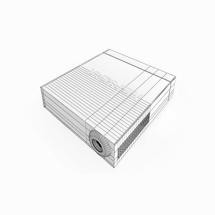Elektronischer Umschalter royalty-free 3d model - Preview no. 11