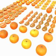 Orange Full Collection Realistic Vray v ray v-ray 3d model