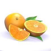 주황색 3d model
