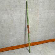 Bamboo Fight Staff Bo Stick 3d model