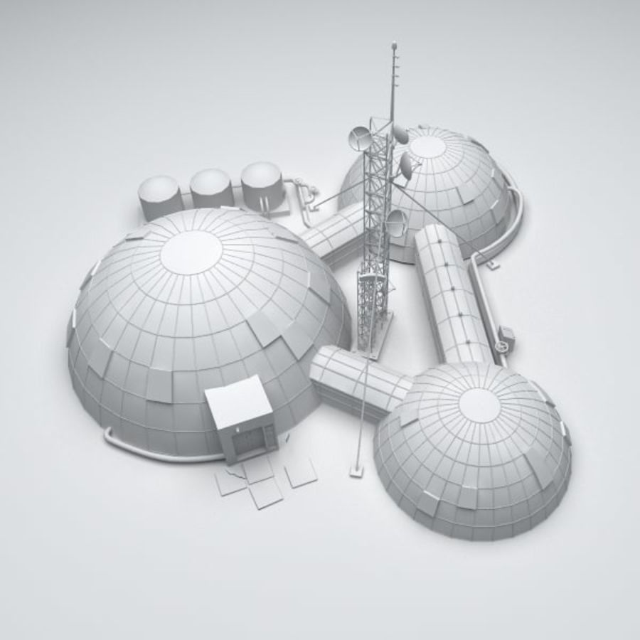 Space station royalty-free 3d model - Preview no. 6