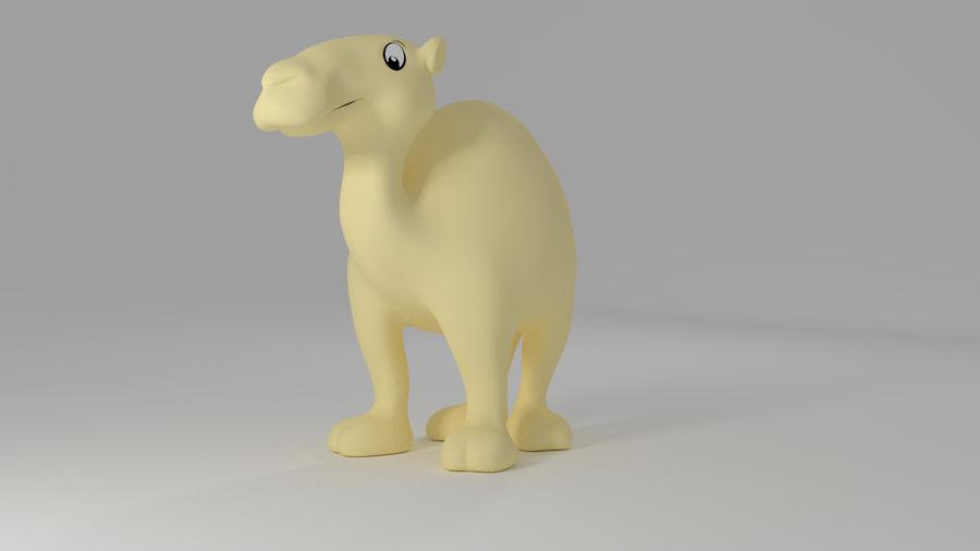 Camel_Cartoon royalty-free 3d model - Preview no. 3