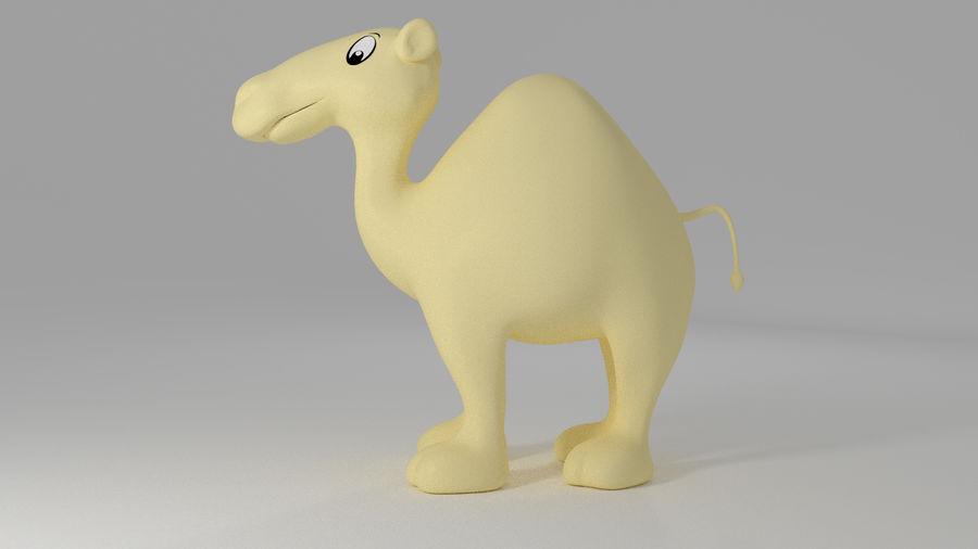 Camel_Cartoon royalty-free 3d model - Preview no. 2