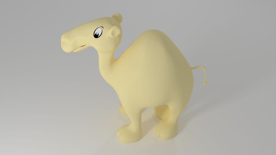 Camel_Cartoon royalty-free 3d model - Preview no. 5