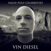 HD Vin Diesel 3d model