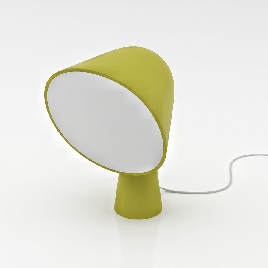 Binic Table Lamp royalty-free 3d model - Preview no. 6