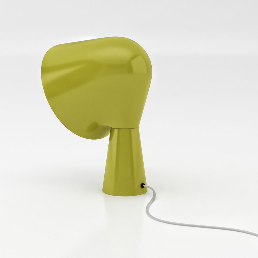 Binic Table Lamp royalty-free 3d model - Preview no. 3