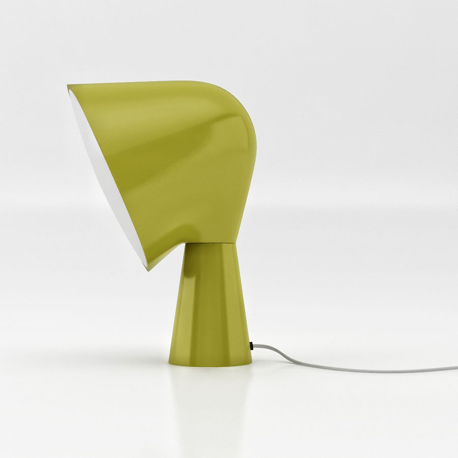 Binic Table Lamp royalty-free 3d model - Preview no. 4