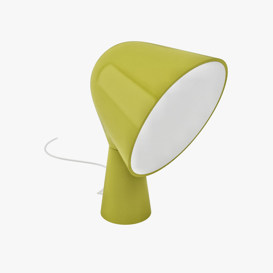 Binic Table Lamp royalty-free 3d model - Preview no. 1