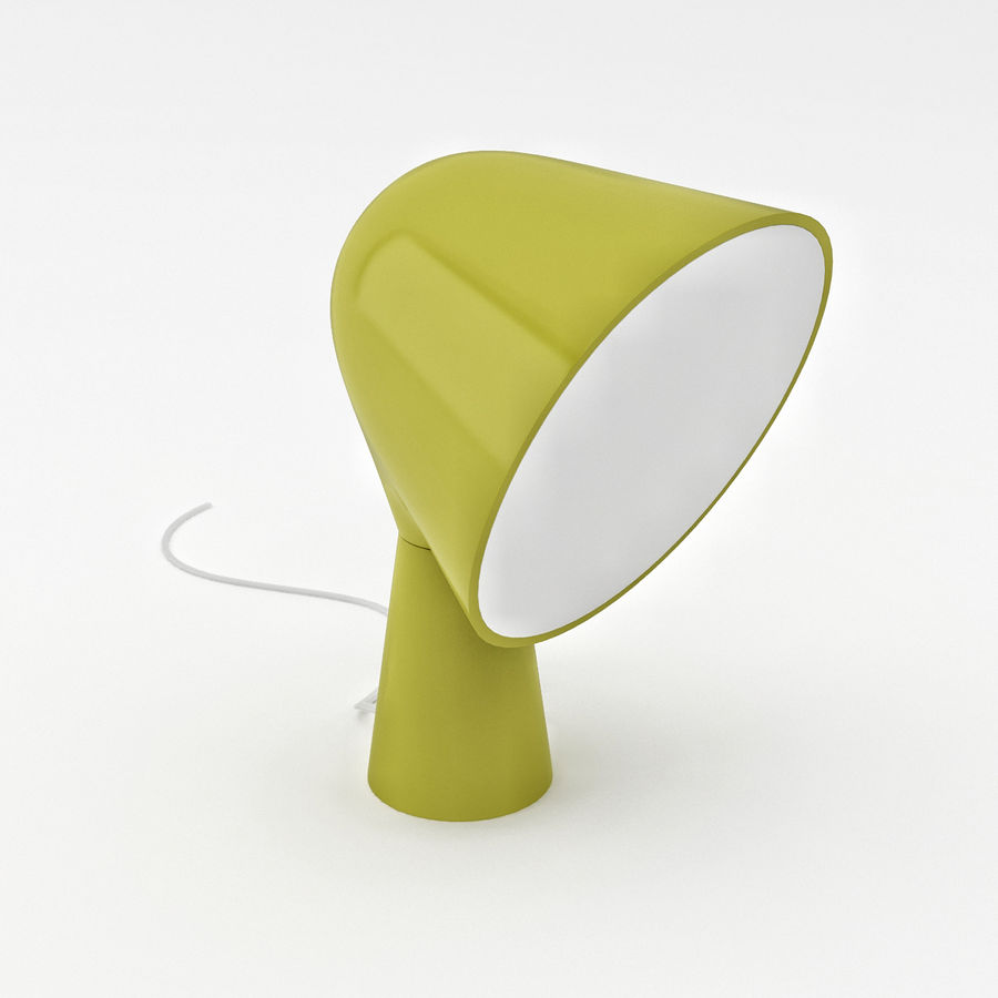 Binic Table Lamp royalty-free 3d model - Preview no. 2