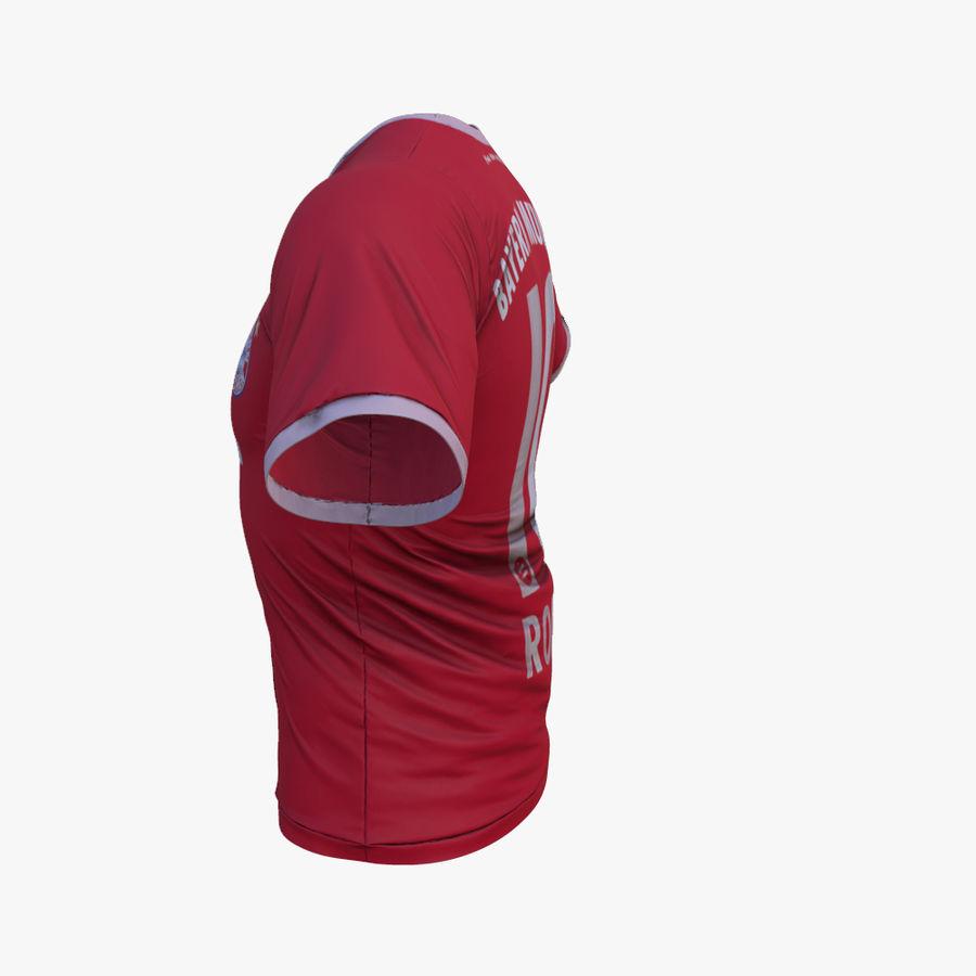 T-shirt du FC Bayern Munchen (2013-2014) royalty-free 3d model - Preview no. 3