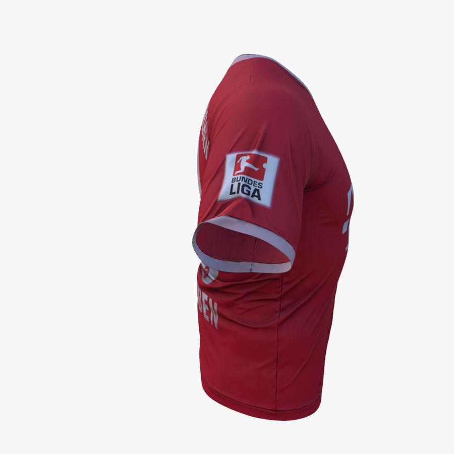 T-shirt du FC Bayern Munchen (2013-2014) royalty-free 3d model - Preview no. 5