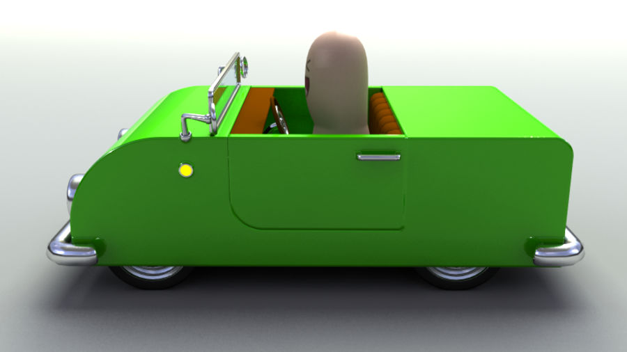 Rigged Toy vehicles royalty-free 3d model - Preview no. 11