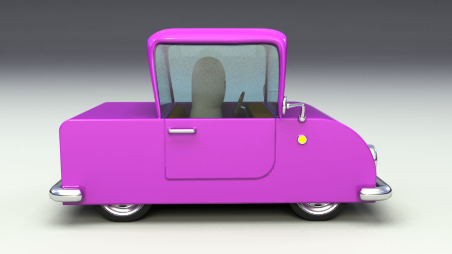 Rigged Toy vehicles royalty-free 3d model - Preview no. 14