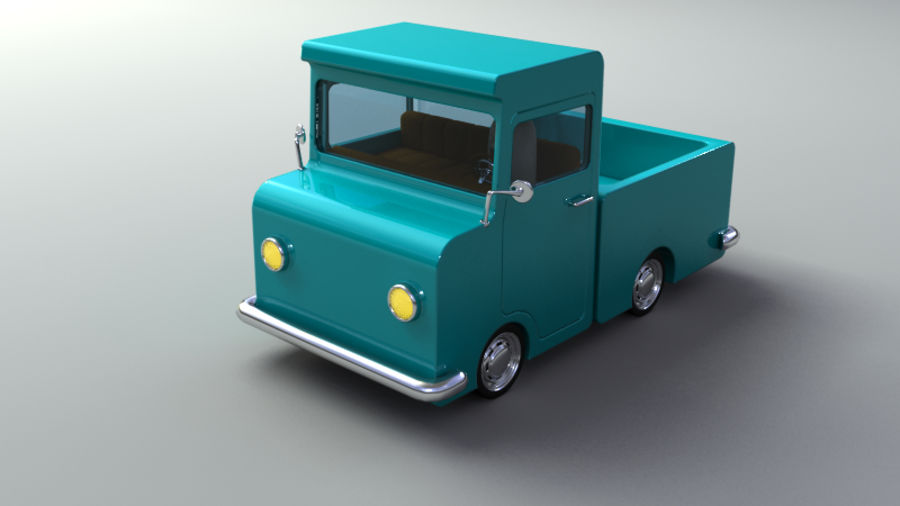 Rigged Toy vehicles royalty-free 3d model - Preview no. 6