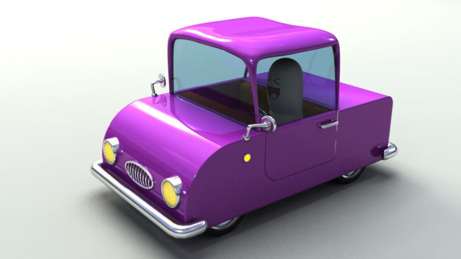 Rigged Toy vehicles royalty-free 3d model - Preview no. 15
