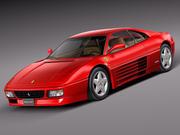 Ferrari 348 tb 1989-1995 3d model