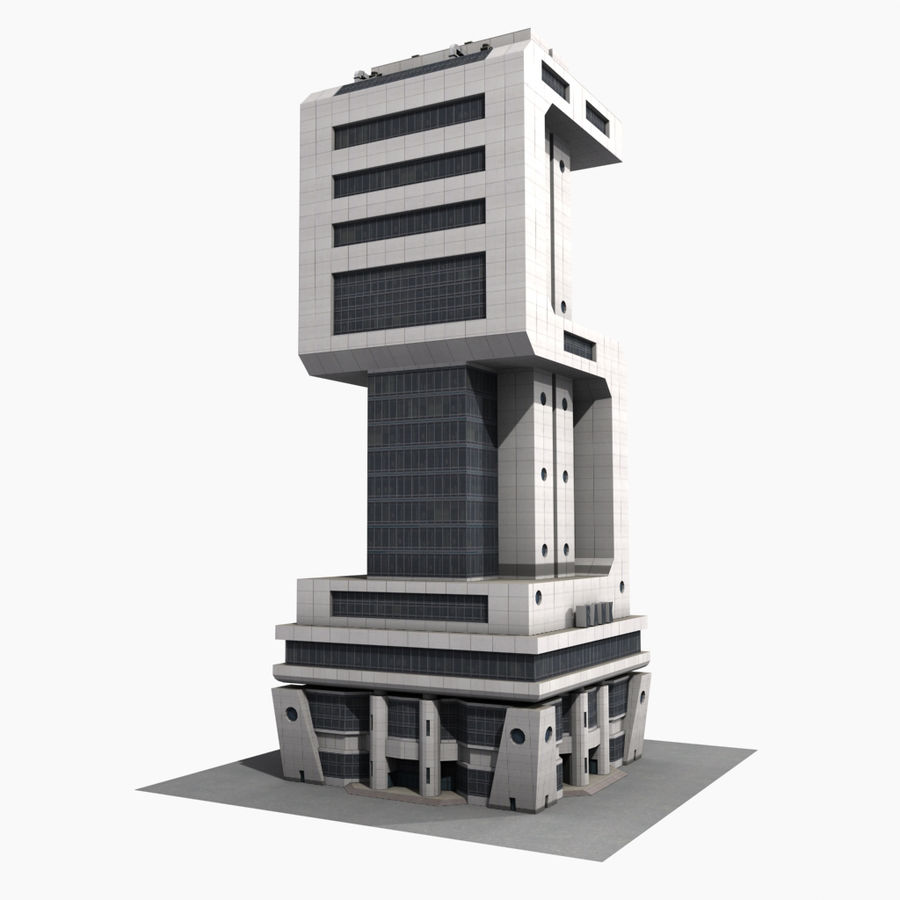 BanK $ royalty-free 3d model - Preview no. 10