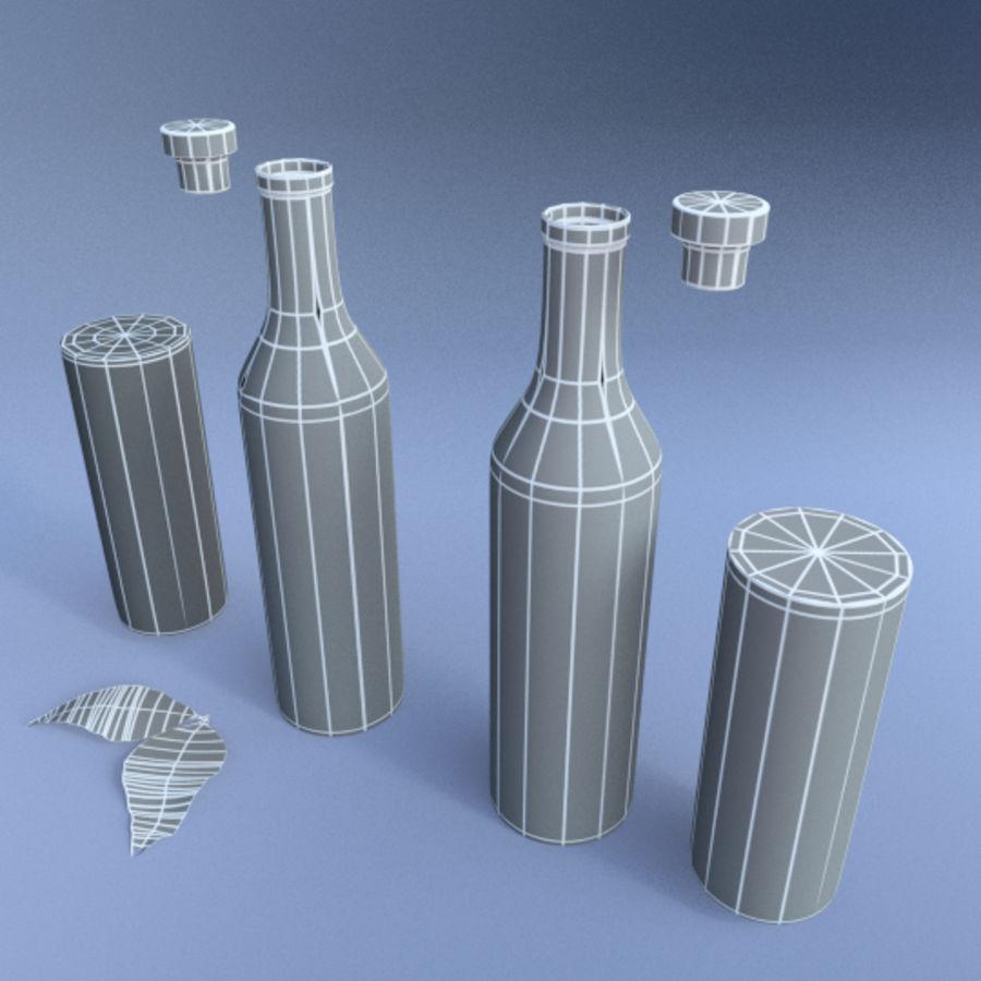 Oil & Vinegar royalty-free 3d model - Preview no. 4