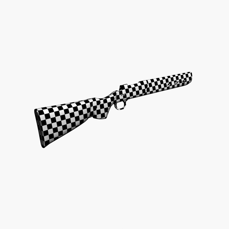 ライフル royalty-free 3d model - Preview no. 11