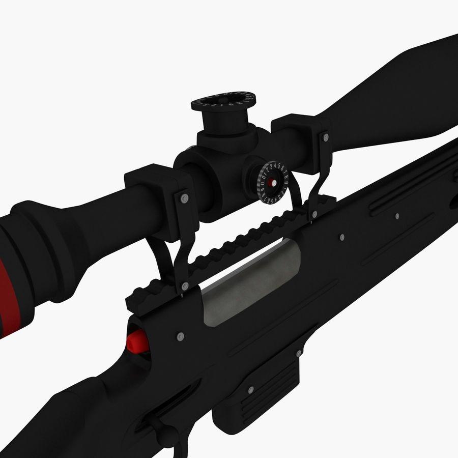 ライフル royalty-free 3d model - Preview no. 9