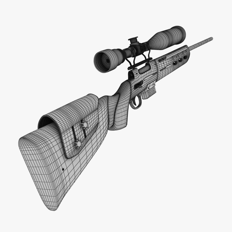 ライフル royalty-free 3d model - Preview no. 12